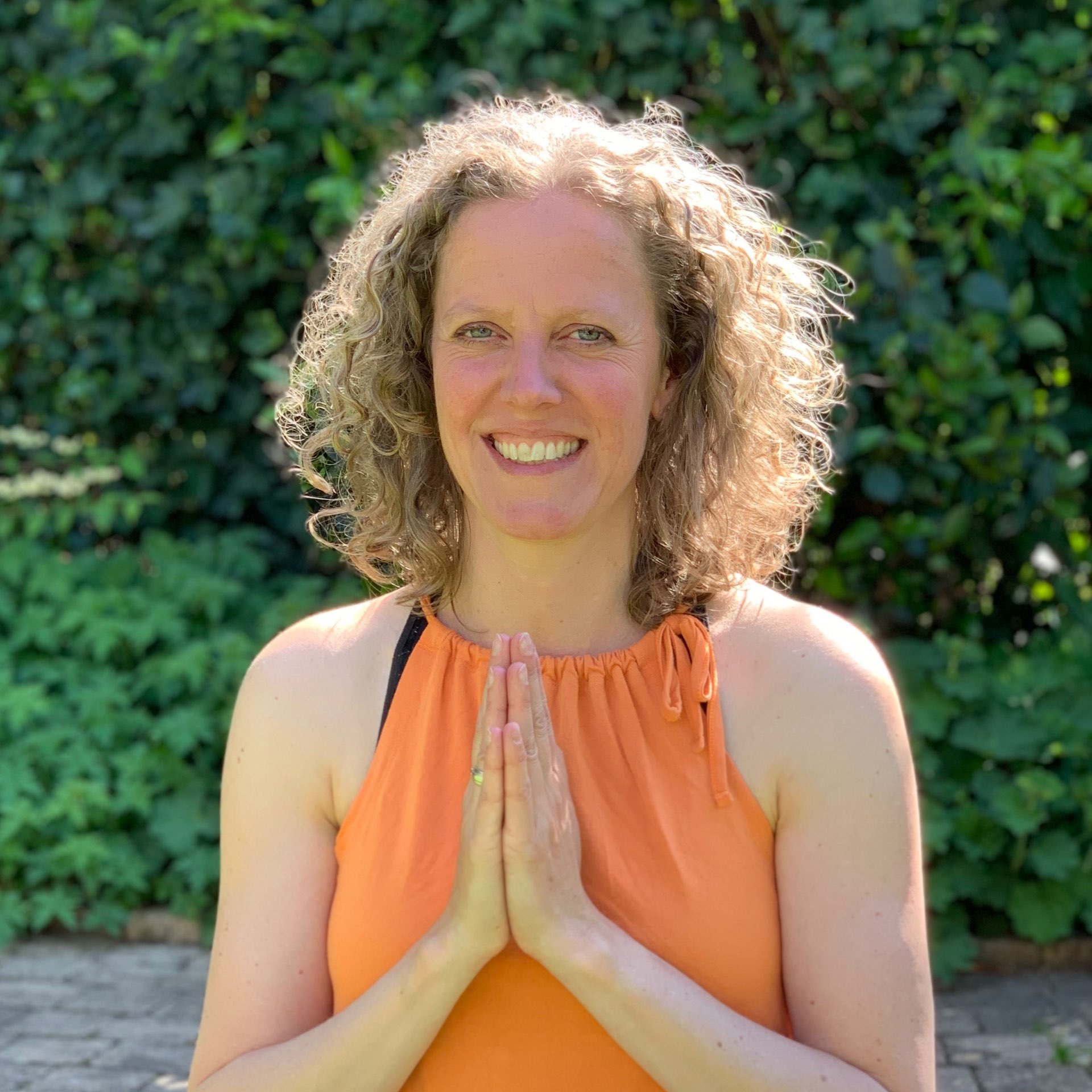 Yogadocent Manon bij Vionté in Driebergen