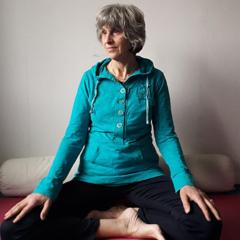 Yogadocent Annelies bij Vionté in Driebergen