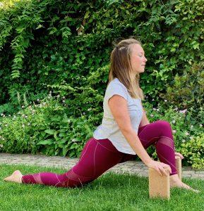 Yin flow yoga bij Vionté in Driebergen